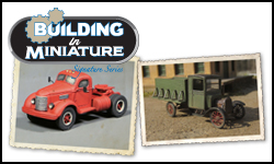 Building HO Scale Vehicles